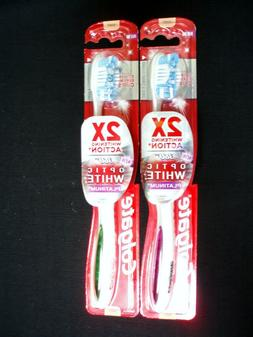 Colgate 360 Optic White Platinum Toothbrush, Full Head