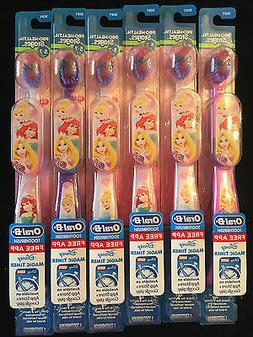 6 Crest Oral-B Soft Disney Princess Toothbrush Pro-Health Ag