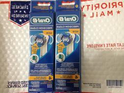 8 Braun Oral B Precision Clean Toothbrush Replacement Brush
