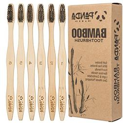 New Premium Natural Bamboo Toothbrush    Buy 4, Get 2 FREE  