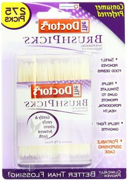 The Doctor's BrushPicks | Interdental Toothpicks | 275 Count