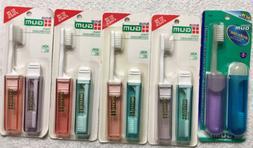 Butler GUM Travel Toothbrushes - 5 Packs For 10 Total Brushe