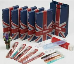 Kent Crystal Compact Finest Soft Premium Toothbrushes 25 PCS