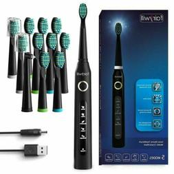 Fairywill Electric Toothbrush Sonic Rechargeable 5 Modes 12