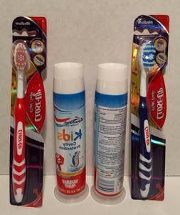 Aquafresh Kids cavity protection W/ Close Up tooth brushes