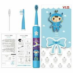 kids electric toothbrushes sonic power cleaning boys USB Cha