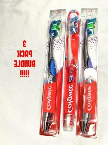 Colgate 360 Optic White Platinum Toothbrush, Full Head, Soft