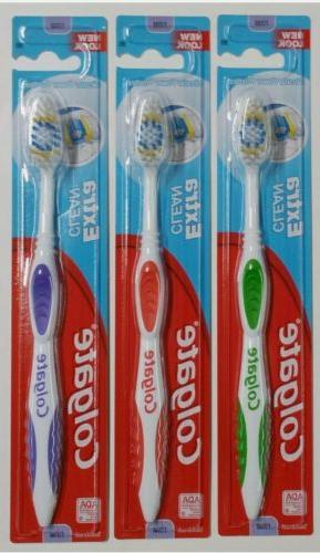 6 Colgate Toothbrush Extra Clean Full Head FIRM #95 Brushes