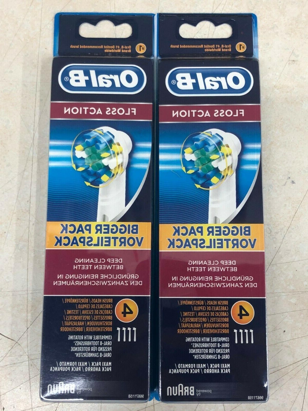 8 braun oral b floss action toothbrush