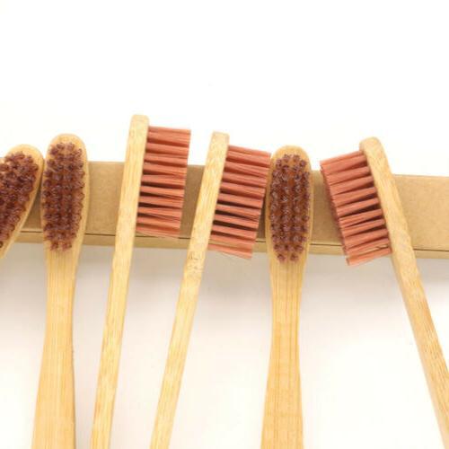 8 PCS Toothbrush Eco-Friendly Biodegradable Nylon