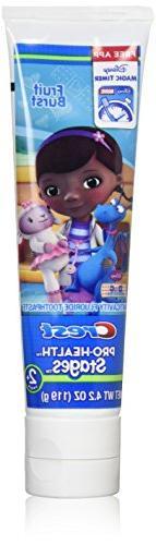 Crest Pro-Health Stages Disney Jr. Doc Mcstuffins 2+ Years,