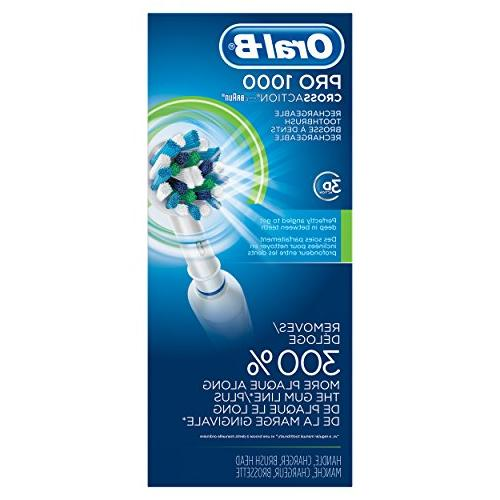 Oral-B Rechargeable Toothbrush, Colors Vary - Blue