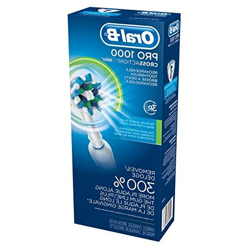 Oral-B 1000 Rechargeable Colors May Vary White Blue
