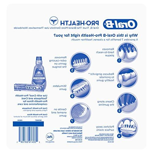 Oral-B Pro In One Toothbrushes, 6 Count