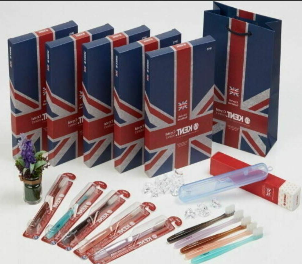 crystal compact finest soft premium toothbrushes 25