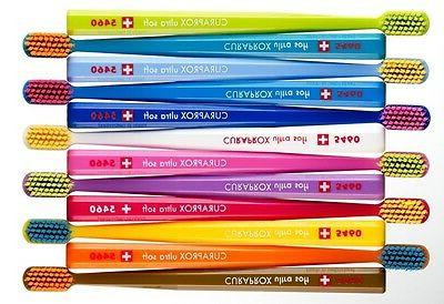 1 x CURAPROX CS 5460 Toothbrushes Ultra Soft Tooth Brushes S