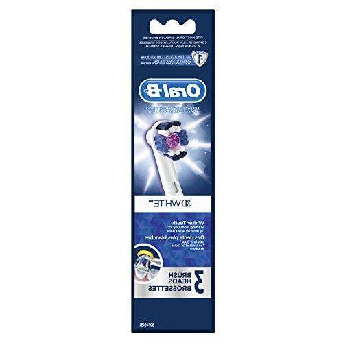Oral-B 3D Toothbrush Replacement Refill, 3ct