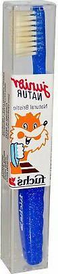 Fuchs Junior Natur Natural Bristle Child Medium Toothbrush -