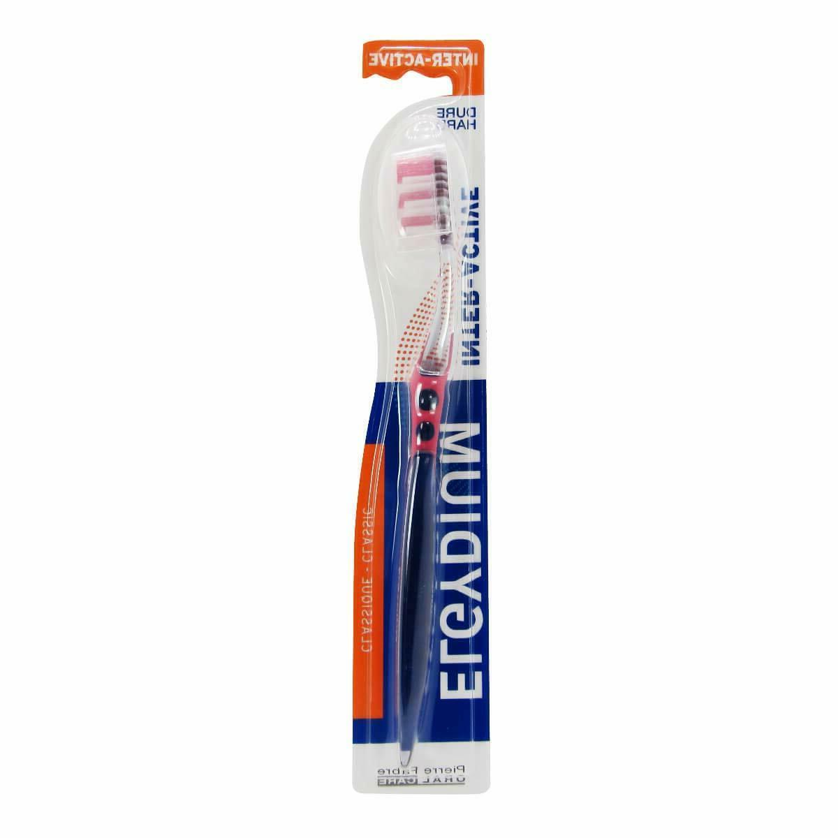 interactiv toothbrush imported hard bristle