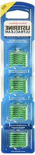 Listerine Ultra Clean Access Flosser Mint Refill Heads, 28 C