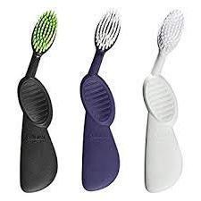 Radius Scuba Left Hand Toothbrush  Colors May Vary