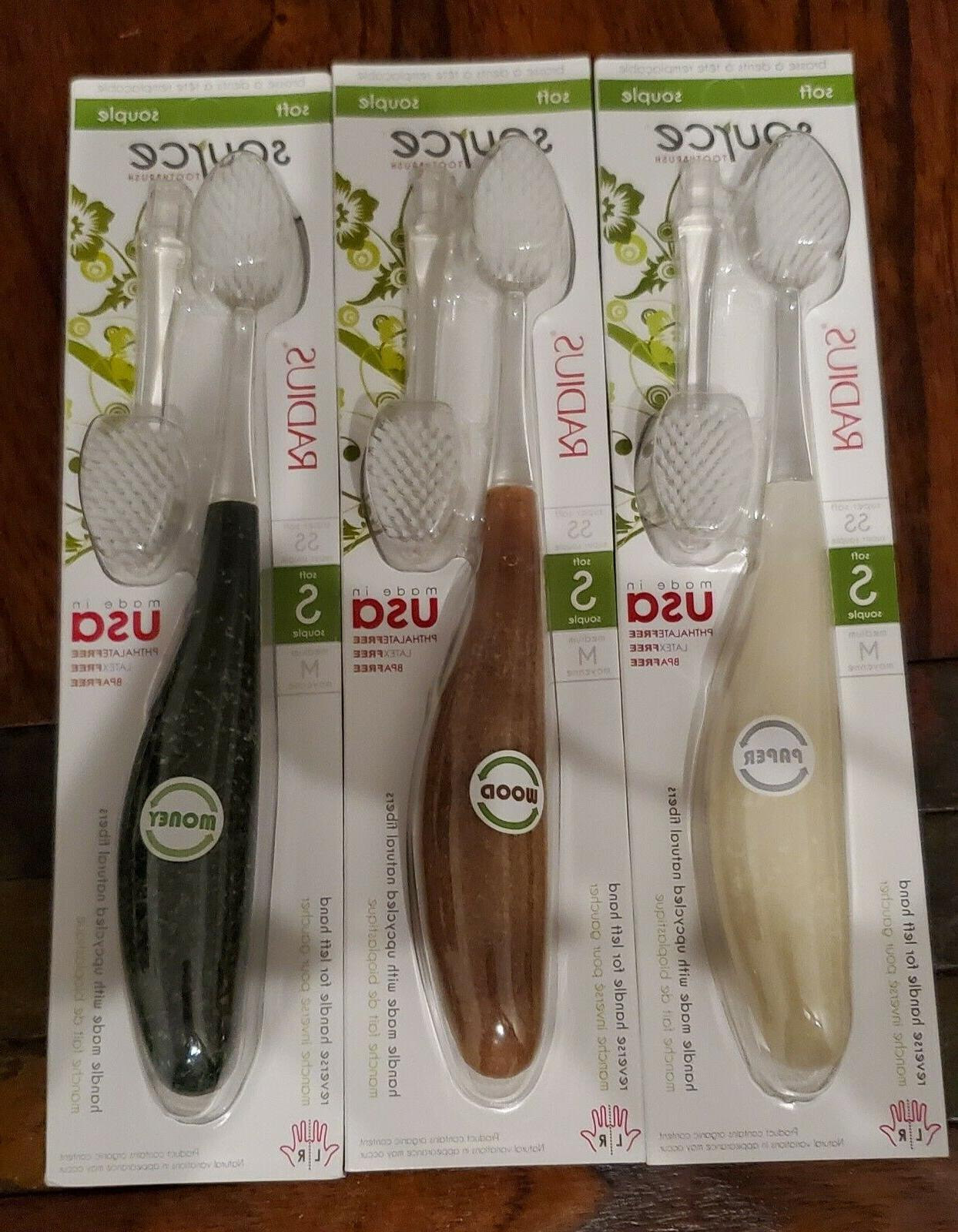 source toothbrush soft 3 brushes