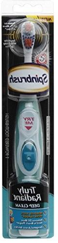 Spinbrush Truly Radiant Size 1ct Arm & Hammer Truly Radiant