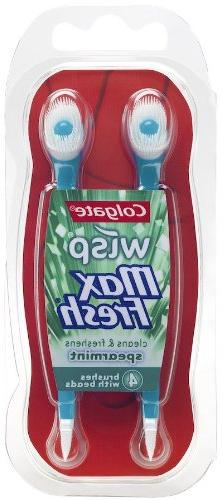 Colgate Wisp Portable Max Fresh Mini-Brush, Spearmint, 4 Cou