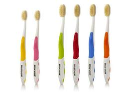 Mouth Watchers Antimicrobial Toothbrush with Flossing Bristl