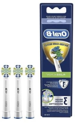 Oral-B Floss Action Electric Toothbrush Replacement Brush He