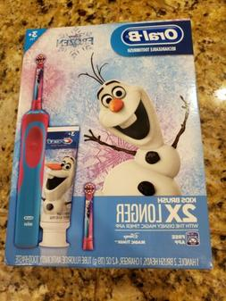Oral-B Kids Frozen Rechargeable Electric Toothbrush + Crest