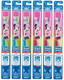 Oral-B Kids Toothbrush, Pro-Health Stages Mickey & Minnie Mo