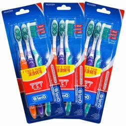 Oral-B Oralb All Rounder Medium Toothbrush 3 Pack X3