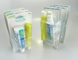 PACK of 6 CREST Oral Care Travel Kit with Crest Toothpaste &