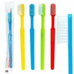 Adult Pre-Pasted Disposable Toothbrushes - 144 per pack