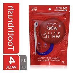 Colgate Wisp Portable Mini-Brush Optic White, Coolmint, 24 e