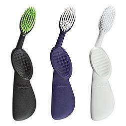 RADIUS - Scuba Toothbrush, Soft Bristles, Flex-Neck Technolo
