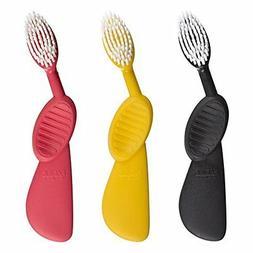 RADIUS - Scuba Right Hand Toothbrush, Soft Bristles, Flex-Ne