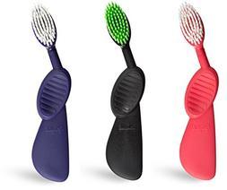 "Radius Scuba Toothbrush  with Supersized Brush Head and ""F"
