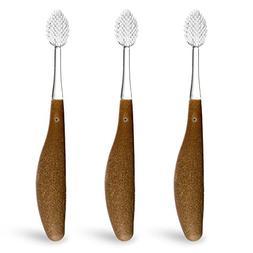 RADIUS - Source Toothbrush , Soft Bristles, Replacement-Head