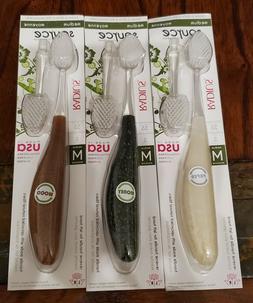 Radius Source Toothbrush - Medium - 3 Brushes