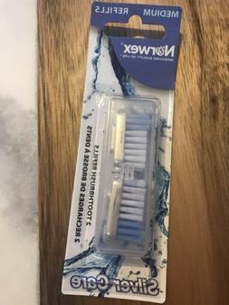 Norwex Toothbrush Silvercare * Medium* 2pc. Refills