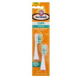 Spinbrush Pro Whitening Soft Bristle Replacement Heads, 2 He