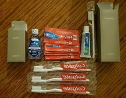 William Roam SENSE Travel Size Colgate Toothbrushes / Toothp